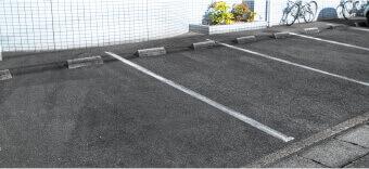 地域の皆様に通院していただきやすいように駐車場を7台完備